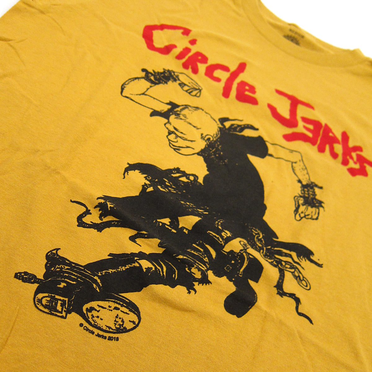 Circle Jerks: Skank Man Shirt - Ginger