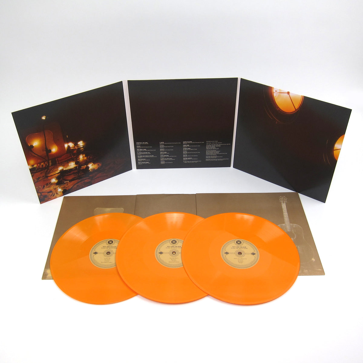 City And Colour: Guide Me Back Home (Indie Exclusive Colored Vinyl) Vinyl 3LP