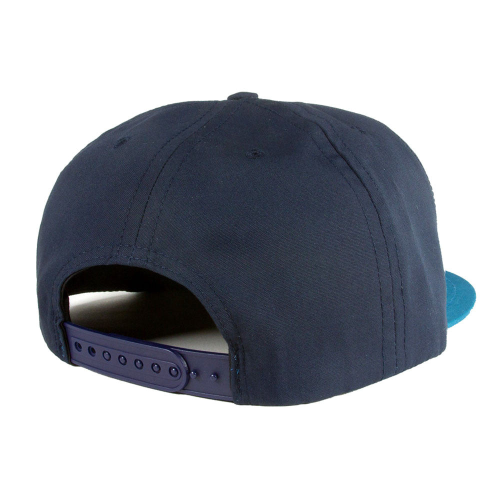 Belief: City Block Snapback - Navy / Caribbean