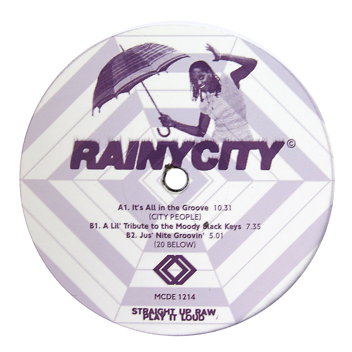 City People / 20 Below: It's All In The Groove / A Lil' Tribute To The Moody Black Keys Vinyl 12""