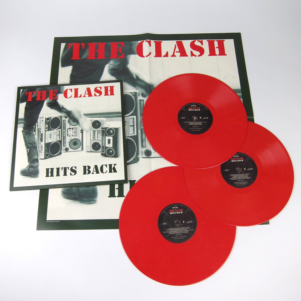 The Clash: Hits Back (180g, Colored Vinyl) Vinyl 3LP