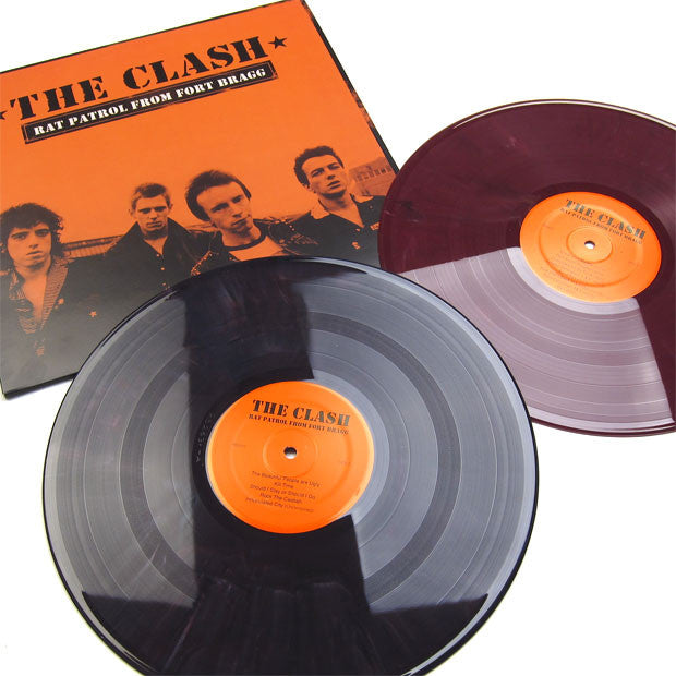 The Clash: Rat Patrol From Fort Bragg 2LP 2