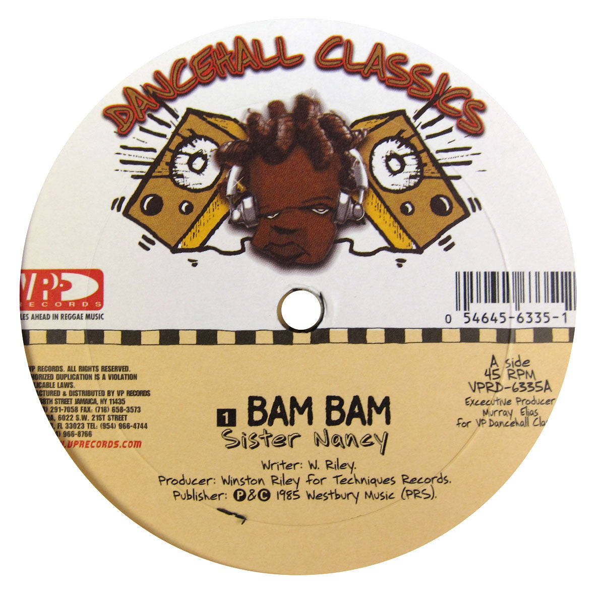 "VP Records: Dancehall Classics 5x12"" Pack (Diseases, Murder She Wrote, Ring The Alarm, Bam Bam) 3"