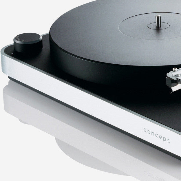 Clearaudio: Concept Turntable - detail