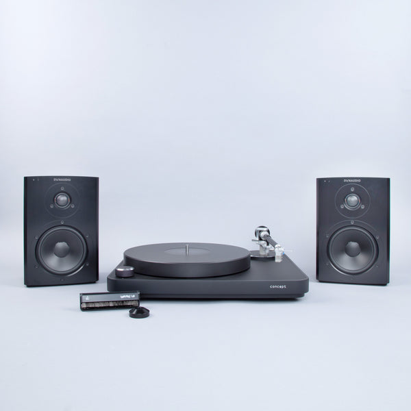Clearaudio: Concept Turntable + Dynaudio Xeo 2 Speaker Setup (TTL Setup)