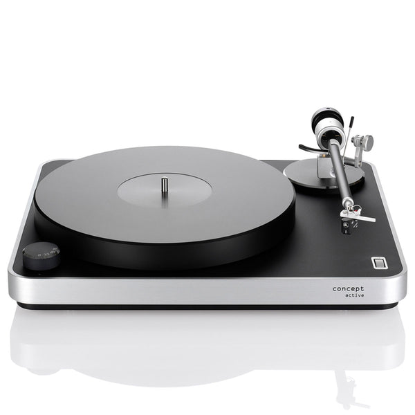 Clearaudio: Concept Active Turntable - Silver