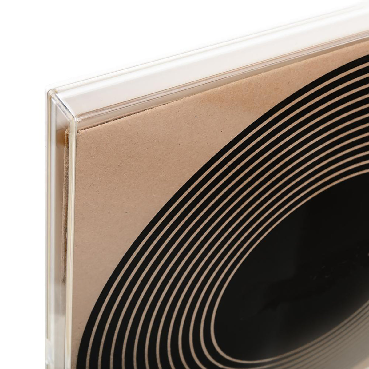 Art Of Records: CLRCASE Vinyl Record Display Case - Black