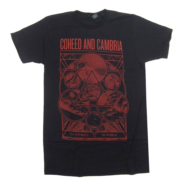 Coheed And Cambria: Mountain Peace Shirt - Black