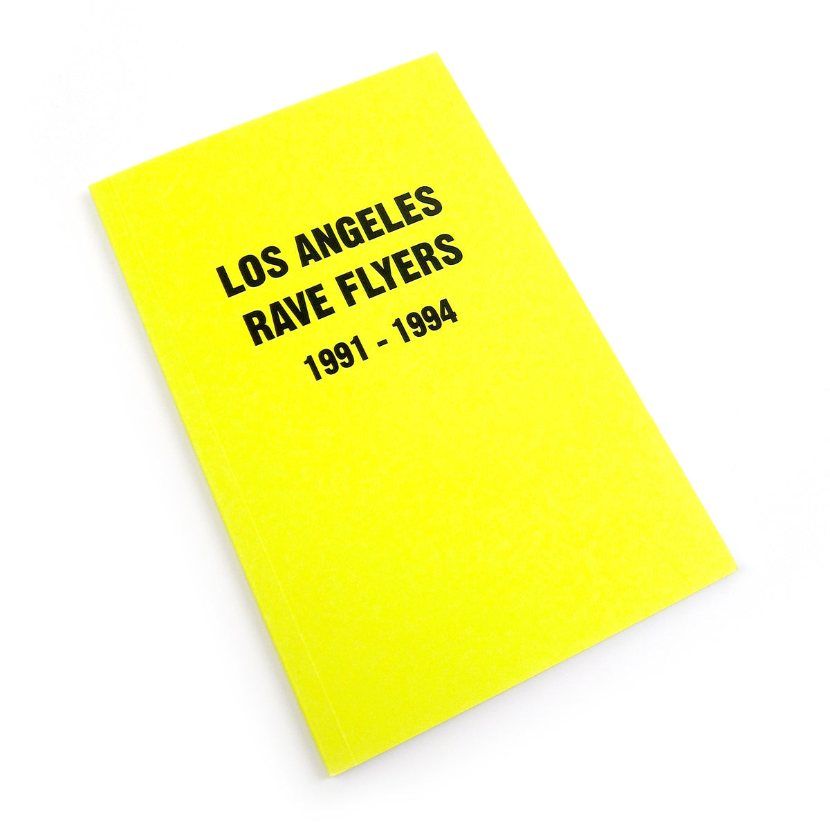 Colpa Press: Rave Flyer Zine Pack (NY, SF, LA)