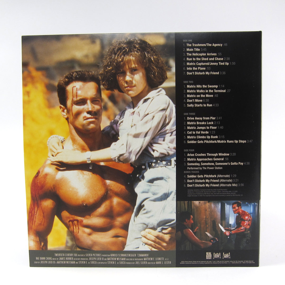 James Horner: Commando Soundtrack (Colored Vinyl) Vinyl 2LP
