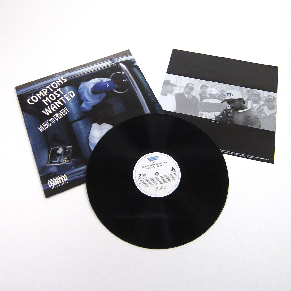 Comptons Most Wanted: Music To Driveby Vinyl LP (Record Store Day)