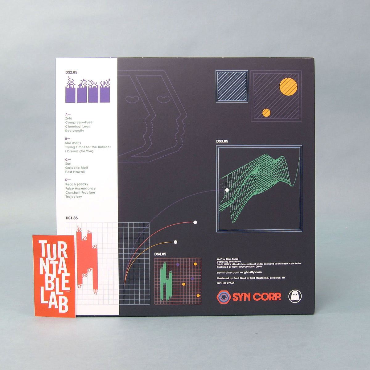 Com Truise: In Decay, Too (Colored Vinyl) Vinyl 2LP - Turntable Lab Exclusive