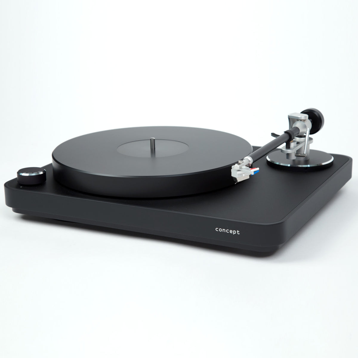 Clearaudio: Concept Black Turntable - Verify Tonearm / Concept MC Cartridge