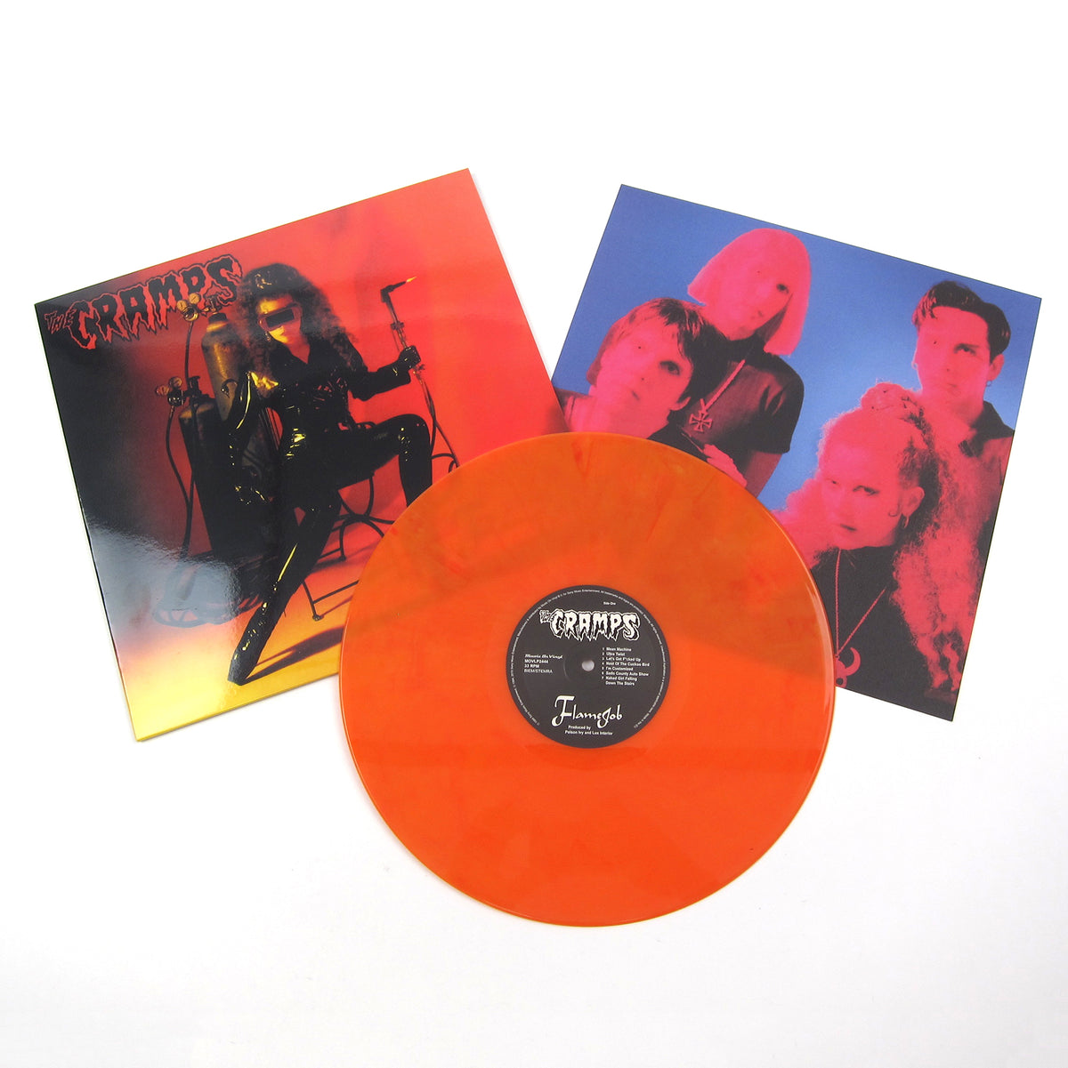 The Cramps: Flamejob (Music On Vinyl 180g, Colored Vinyl) Vinyl LP