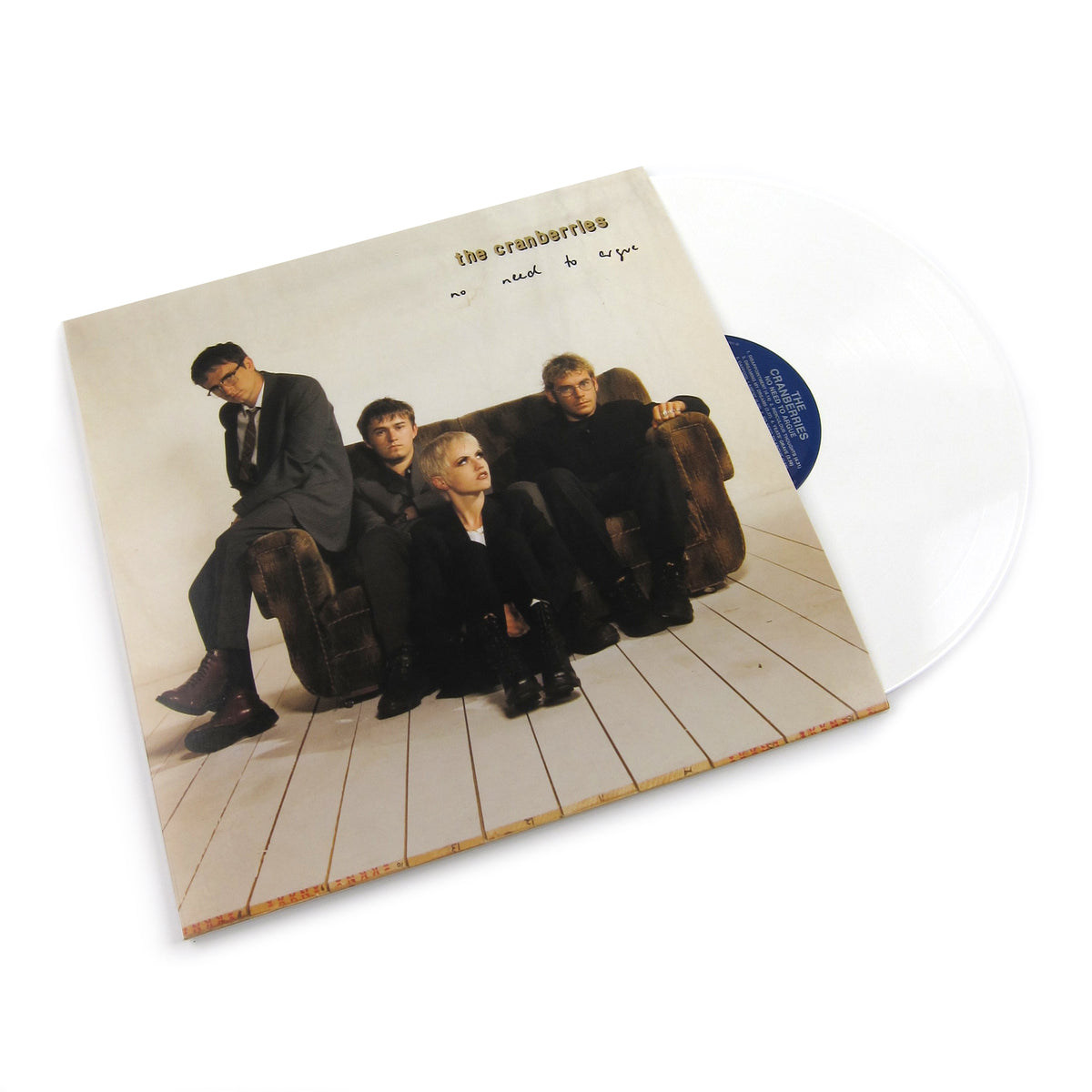 The Cranberries: No Need To Argue (White Colored Vinyl) Vinyl LP