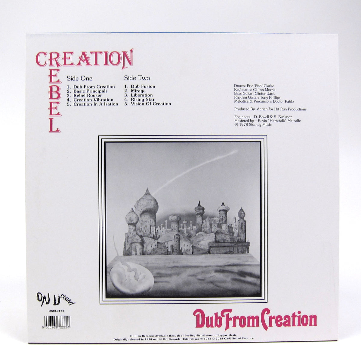 Creation Rebel: Dub From Creation (Colored Vinyl) Vinyl LP (Record Store Day)