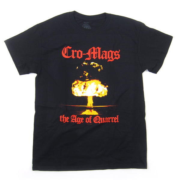 Cro-Mags: The Age Of Quarrel Shirt - Black