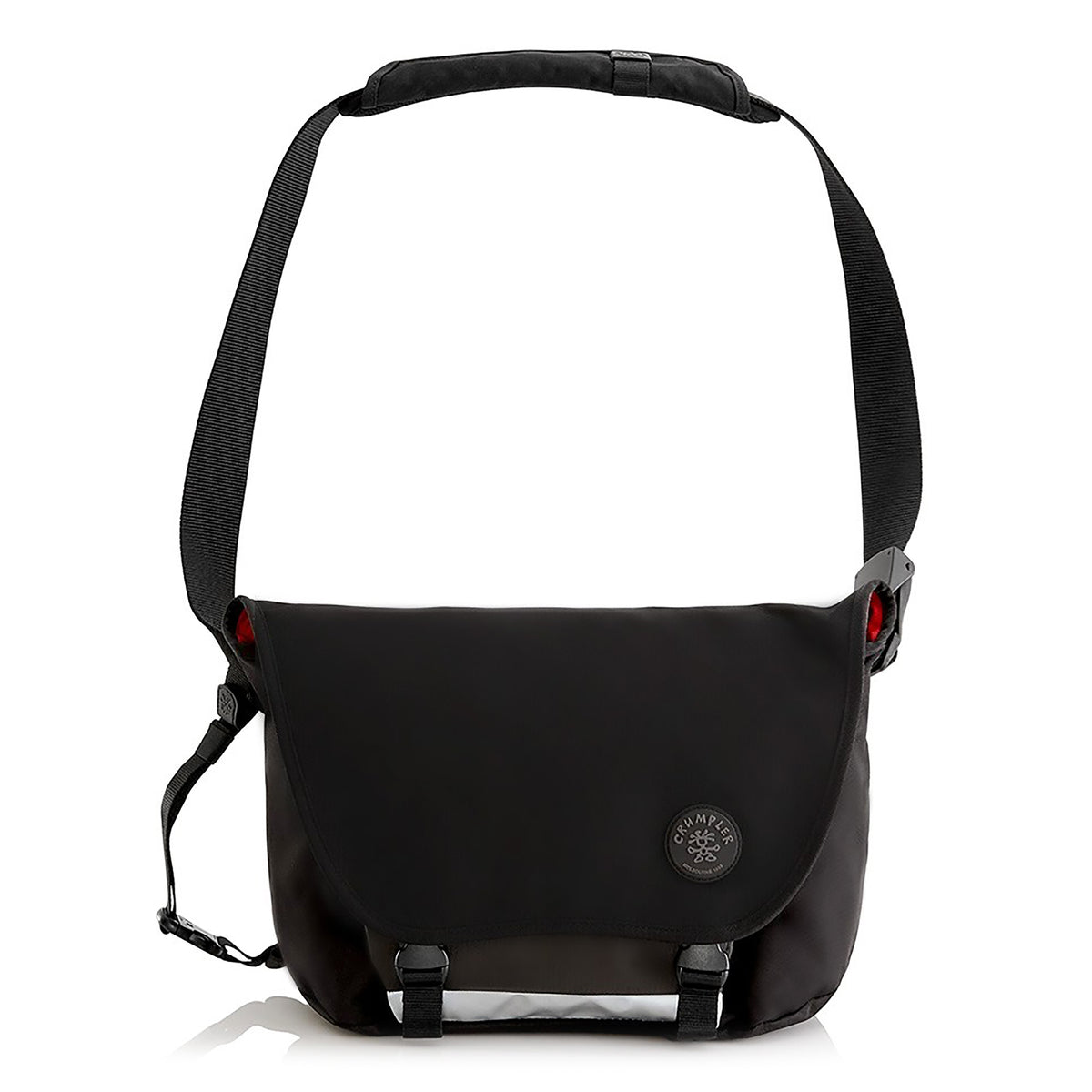 Crumpler: Considerable Embarrassment Laptop Messenger Bag - Black