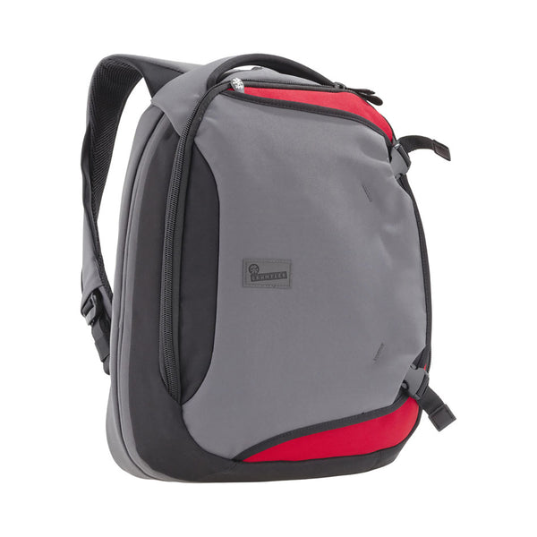Crumpler: Dry Red No 5 Laptop Backpack - Slate Grey