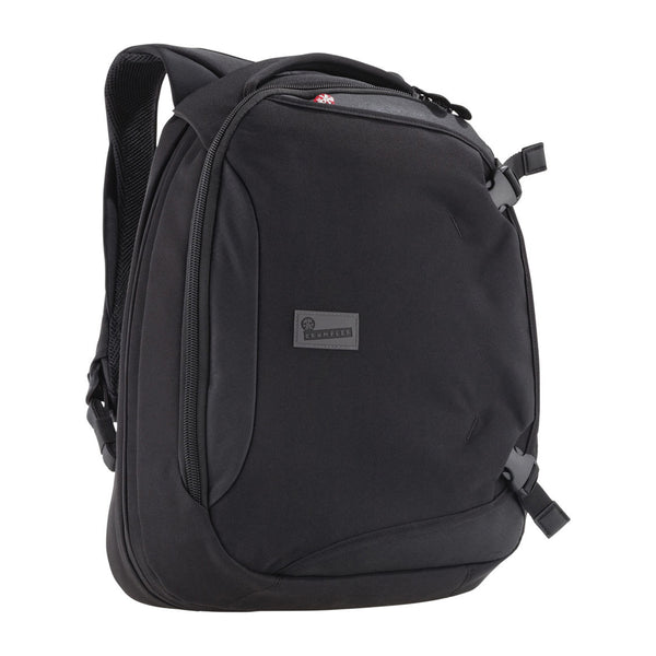 Crumpler: Dry Red No 5 Laptop Backpack - Black