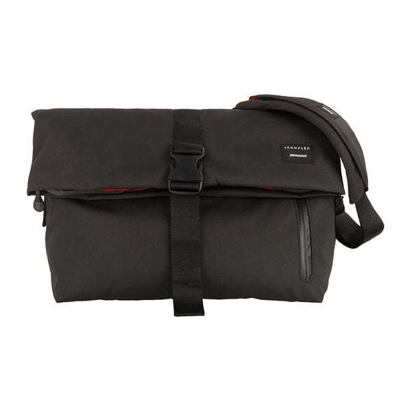 Crumpler: Pinnacle Of Horror Laptop Shoulder Bag - Gunmetal