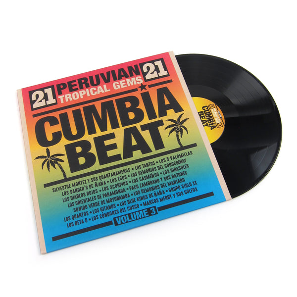 Vampi Soul: Cumbia Beat Vol.3 - 21 Peruvian Tropical Gems Vinyl 2LP