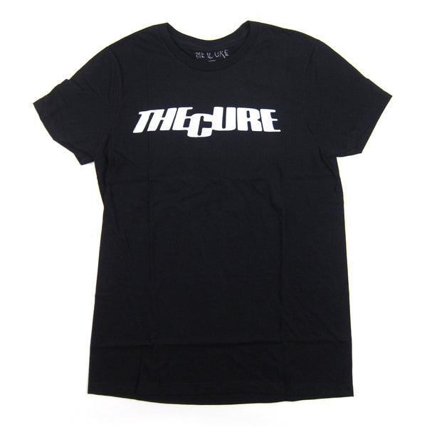 The Cure: Logo Shirt - Black