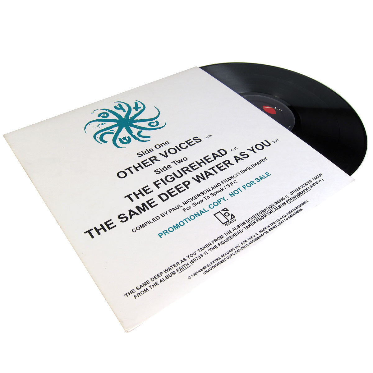 The Cure: Other Voices 12""