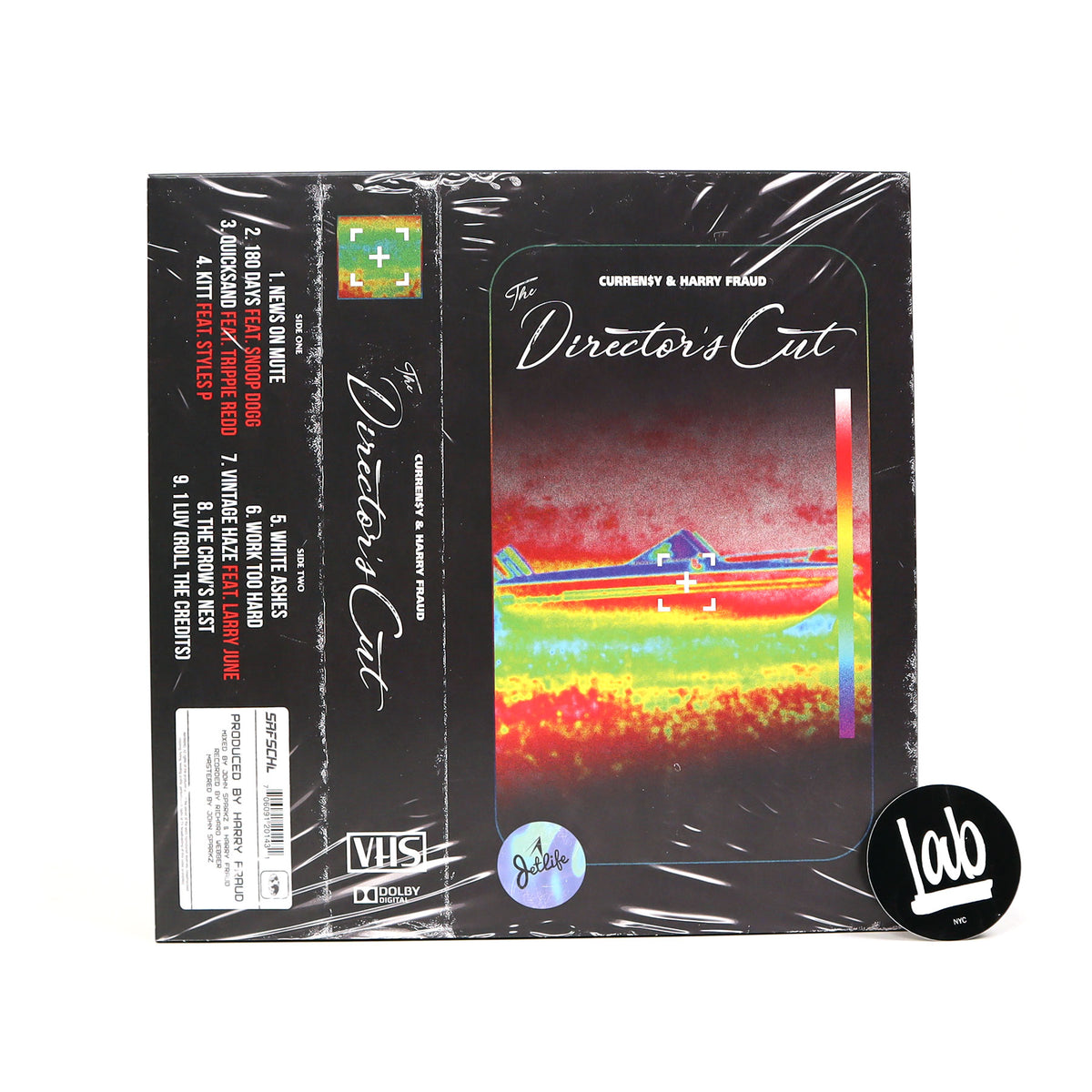 Curren$y & Harry Fraud: The Director's Cut Vinyl