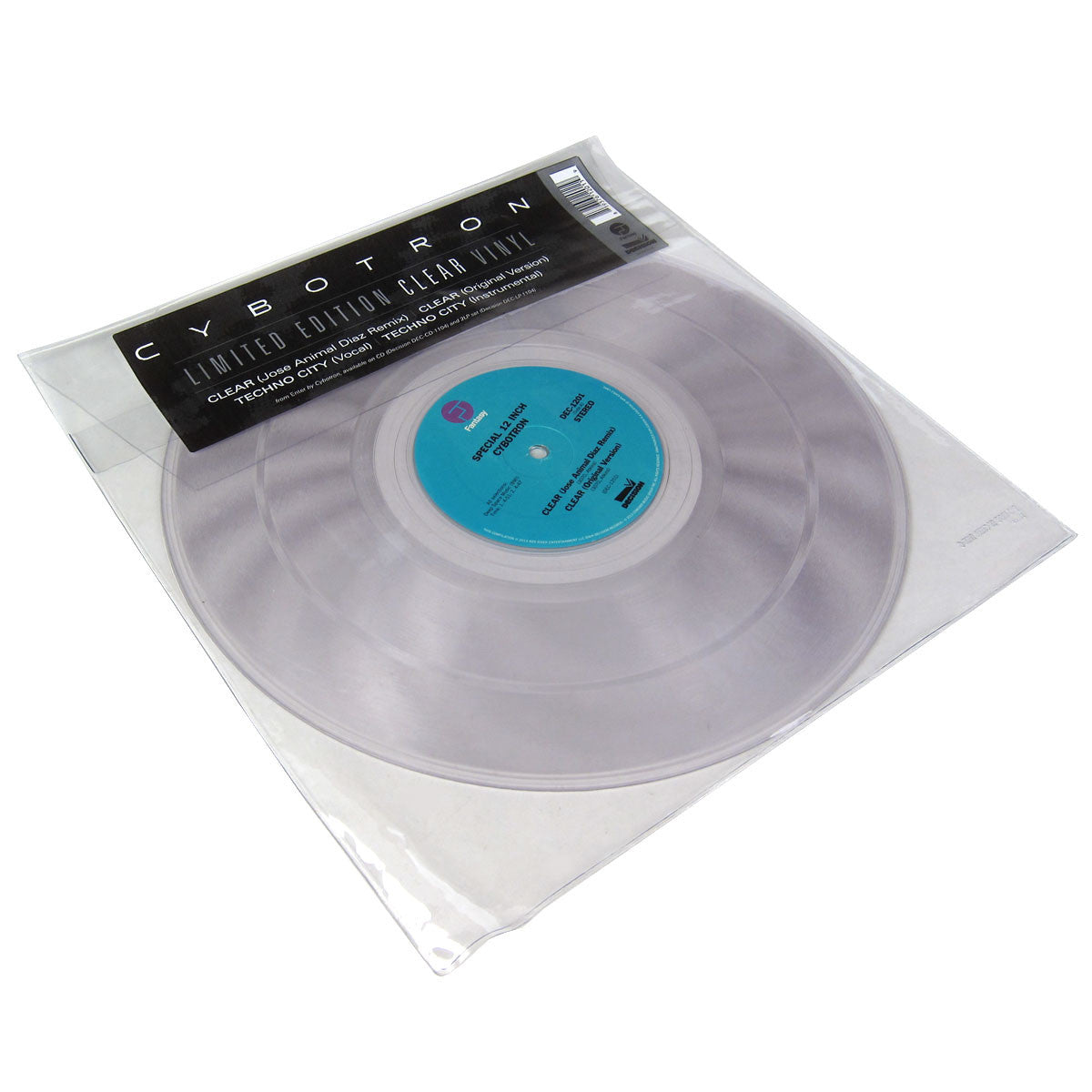 Cybotron: Clear / Techno City (Clear Vinyl) 12""