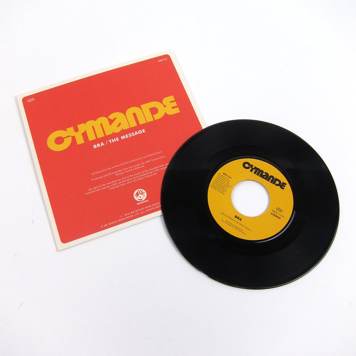 Cymande: Bra / The Message Vinyl 7""