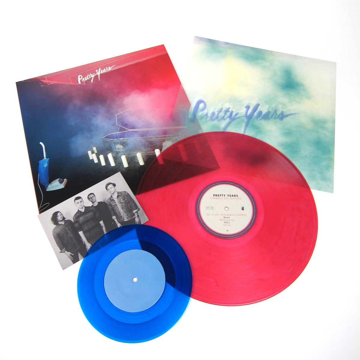 Cymbals Eat Guitars: Pretty Years (Colored Vinyl) Vinyl LP+7""