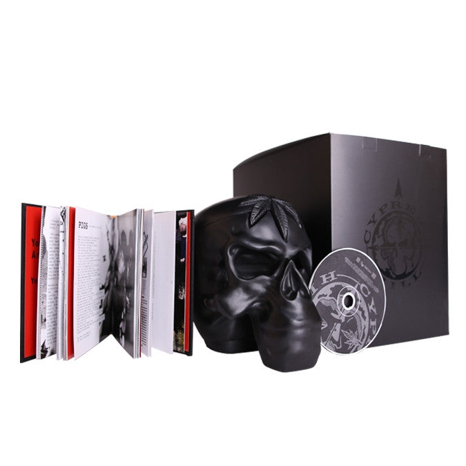Cypress Hill: 25th Anniversary Skull (CD + Book)