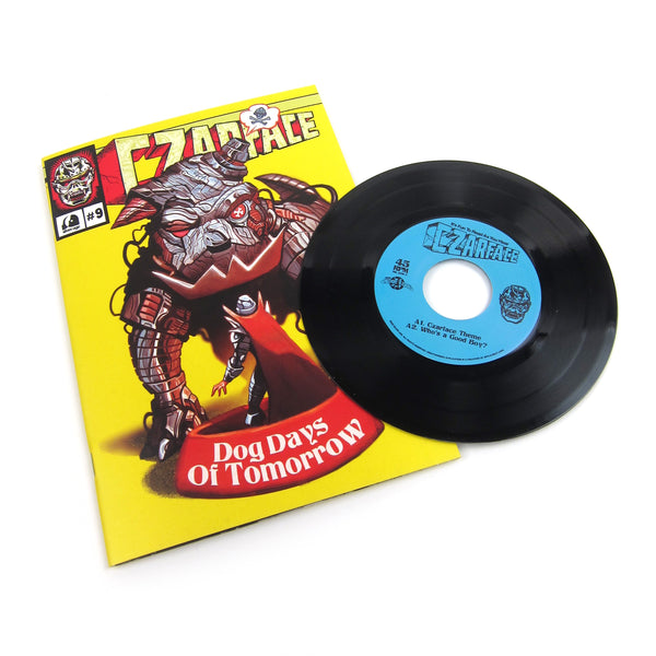 "Czarface: Dog Days Of Tomorrow (Ghostface Killah) Vinyl 7""+Comic Book (Record Store Day)"