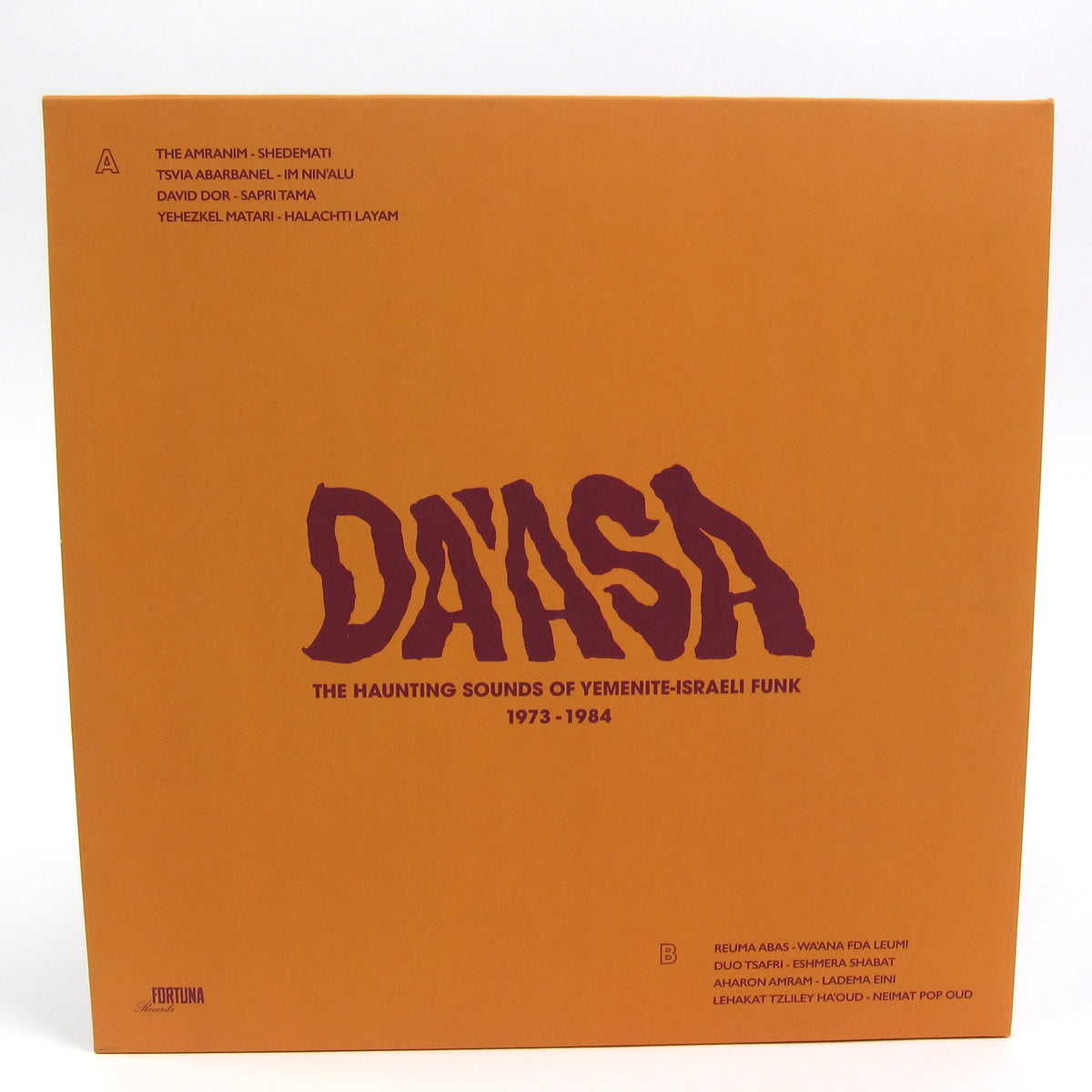 Fortuna Records: Da'asa - The Haunting Sounds of Yemenite-Israeli Funk 1973-84 Vinyl LP