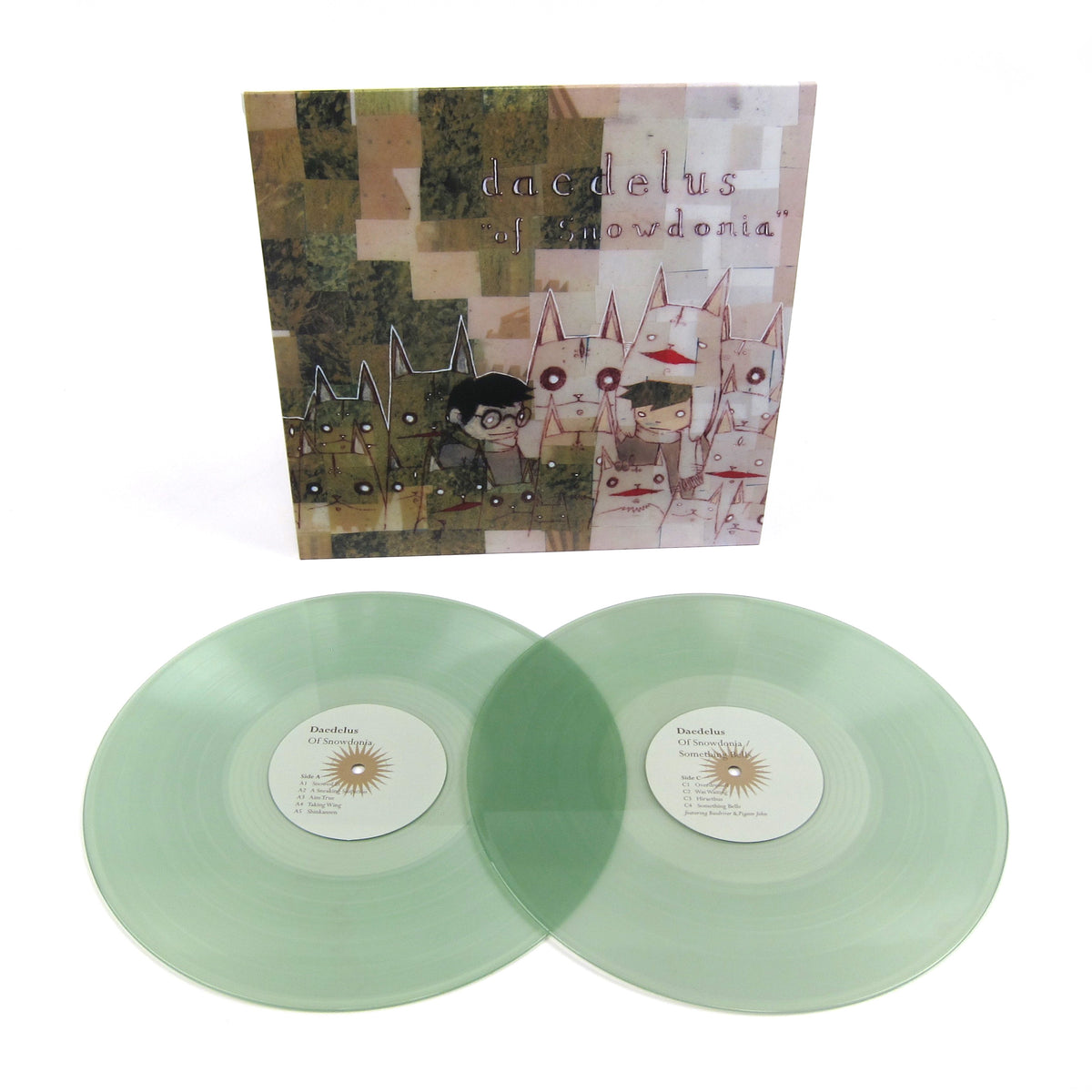 Daedelus: Of Snowdonia & Something Bells (Colored Vinyl) Vinyl 2LP