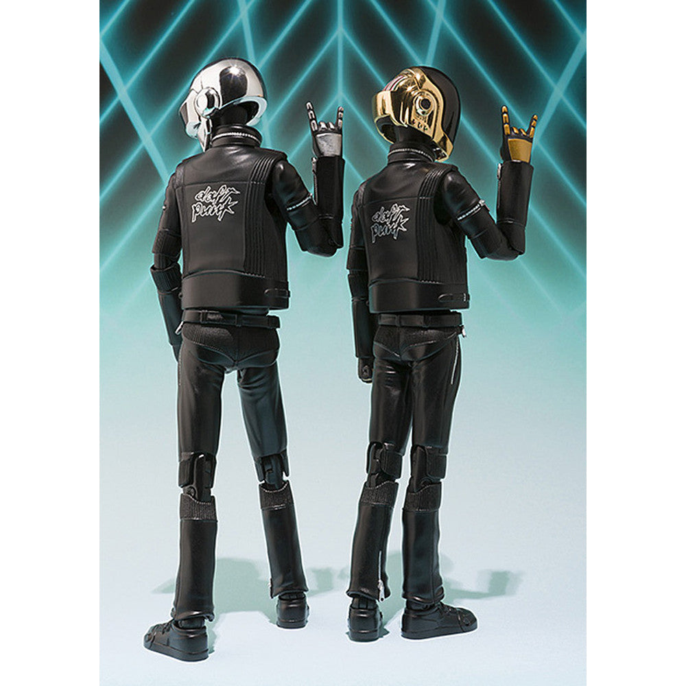 Bandai Japan: Daft Punk Figuarts Action Figure Set back