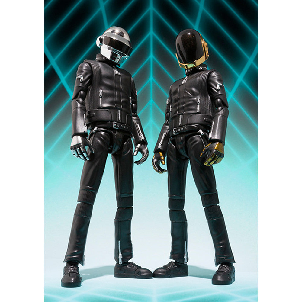 Bandai Japan: Daft Punk Figuarts Action Figure Set front