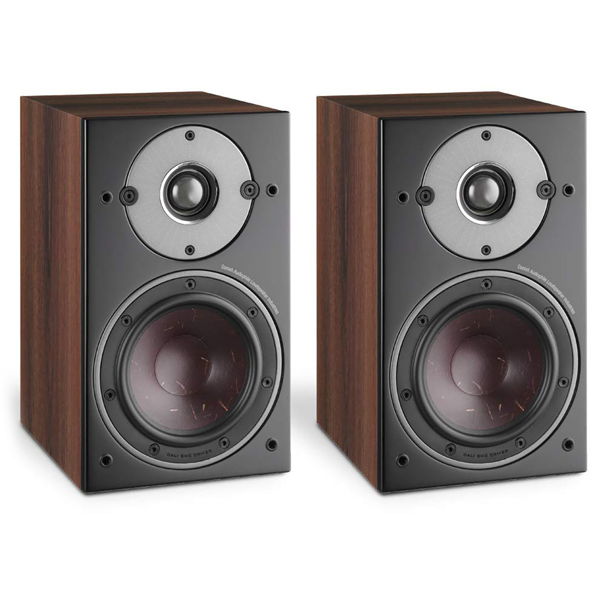 Dali: Oberon 1 Passive Bookshelf Speakers - Dark Walnut (Pair)