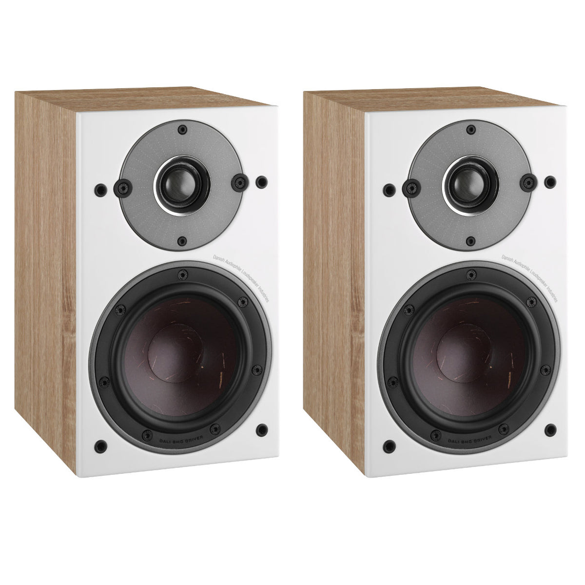 Dali: Oberon 1 Passive Bookshelf Speakers - Light Oak (Pair)