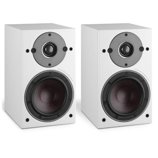 Dali: Oberon 1 Passive Bookshelf Speakers - White (Pair)