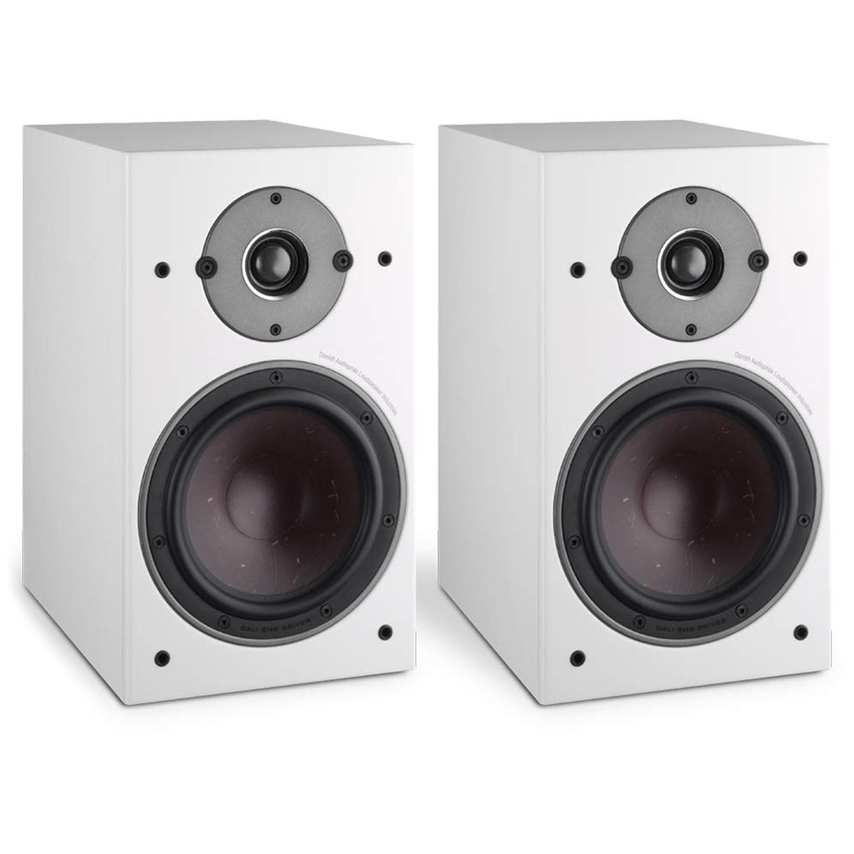 Dali: Oberon 3 Passive Bookshelf Speakers - White (Pair)