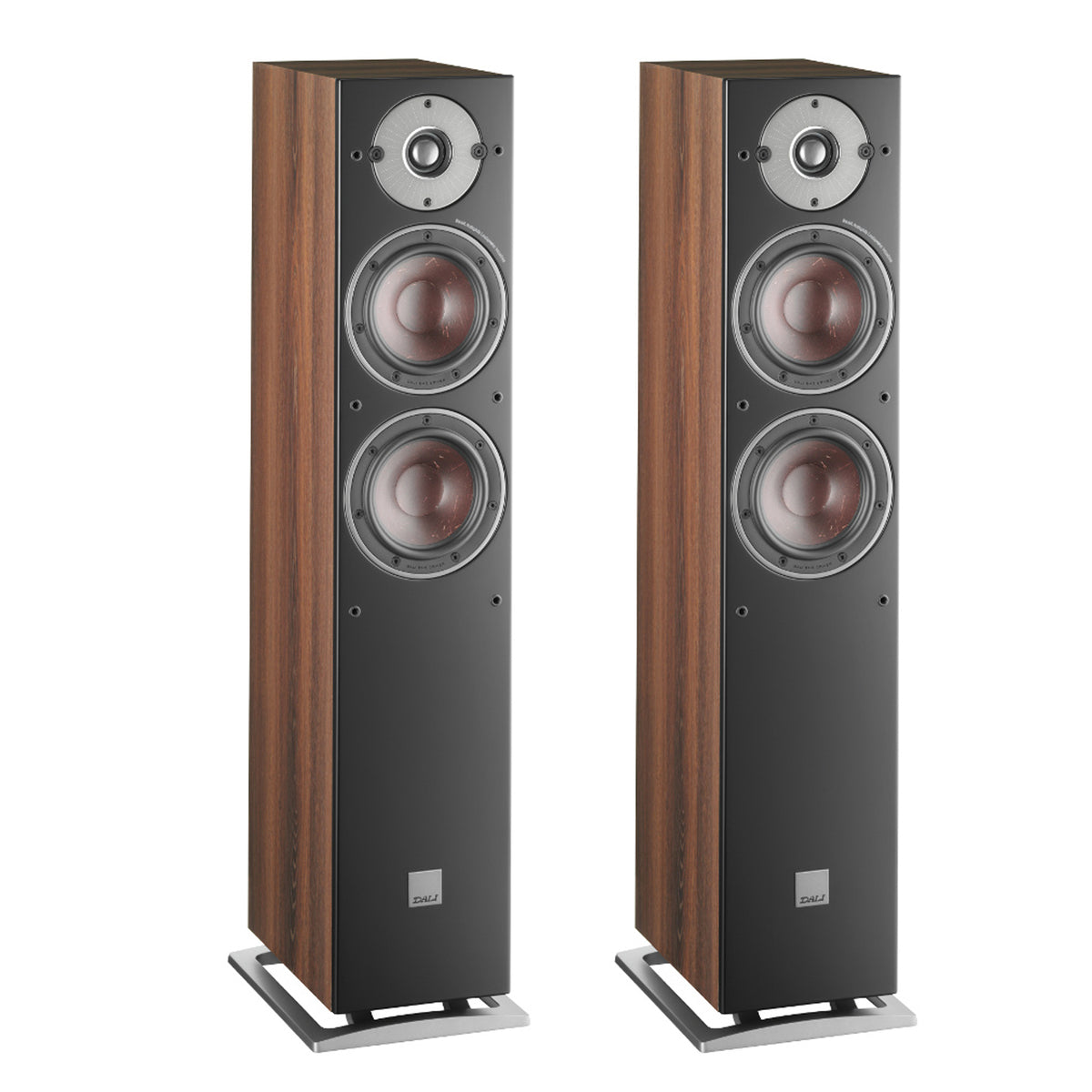 Dali: Oberon 5 Passive Floorstanding Speakers - Dark Walnut (Pair)