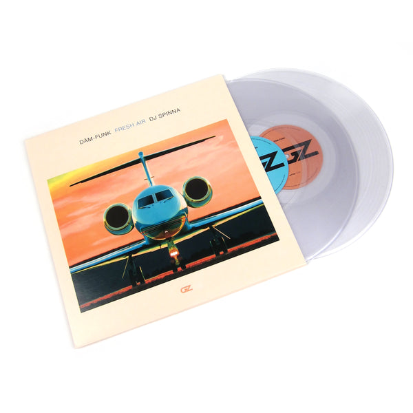 Dam-Funk: Fresh Air feat. DJ Spinna (Serato Control Vinyl, Colored Vinyl) Vinyl 2LP