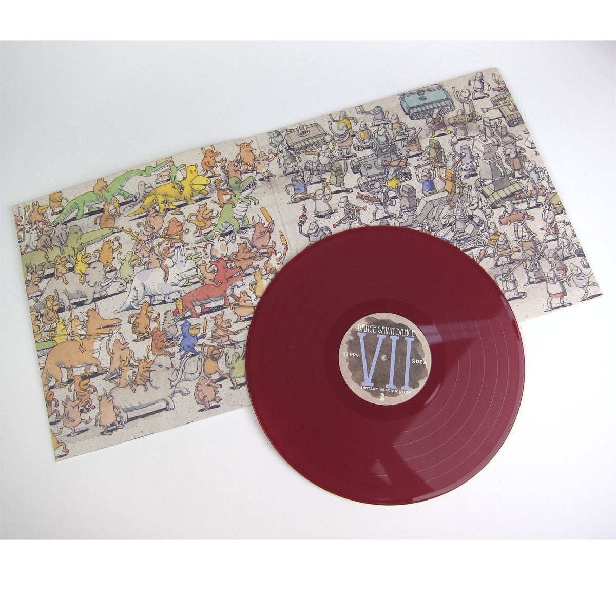 Dance Gavin Dance: Instant Gratification (Colored Vinyl) Vinyl LP+CD