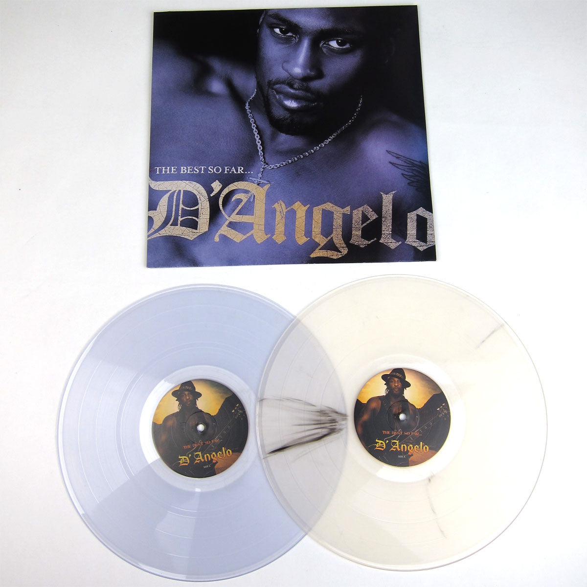 D'Angelo: The Best So Far Vinyl 2LP detail