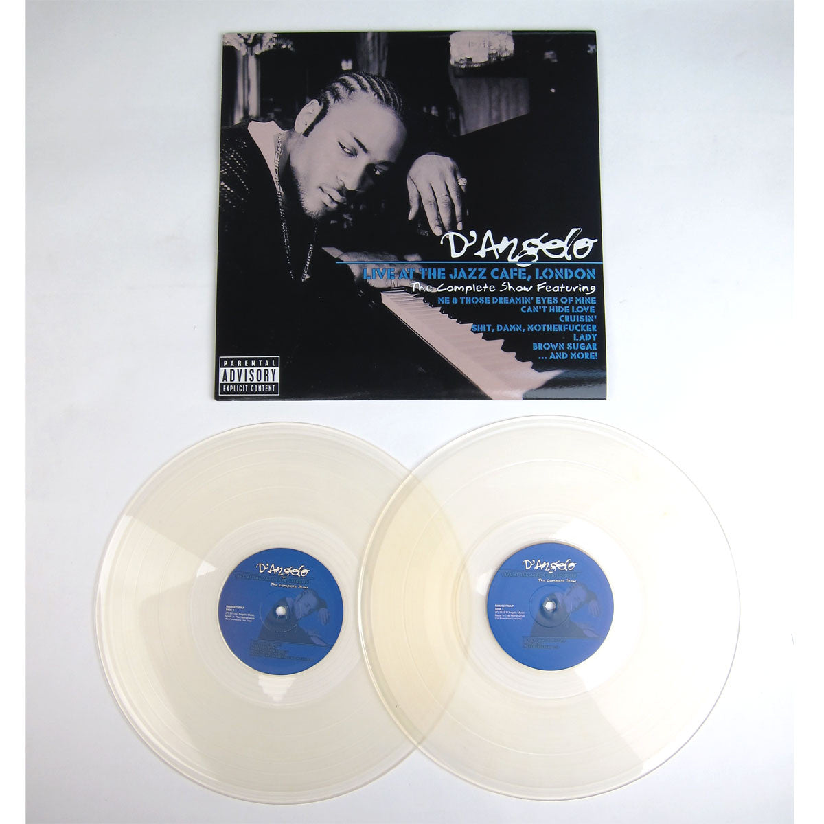 D'Angelo: Live At The Jazz Cafe, London (Colored Vinyl) Vinyl 2LP detail