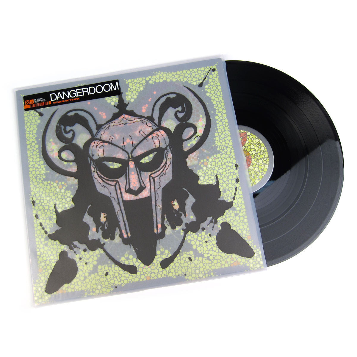 Dangerdoom: Mouse & The Mask (MF Doom, Dangermouse) Vinyl 2LPDangerdoom: Mouse & The Mask (MF Doom, Dangermouse) Vinyl 2LP