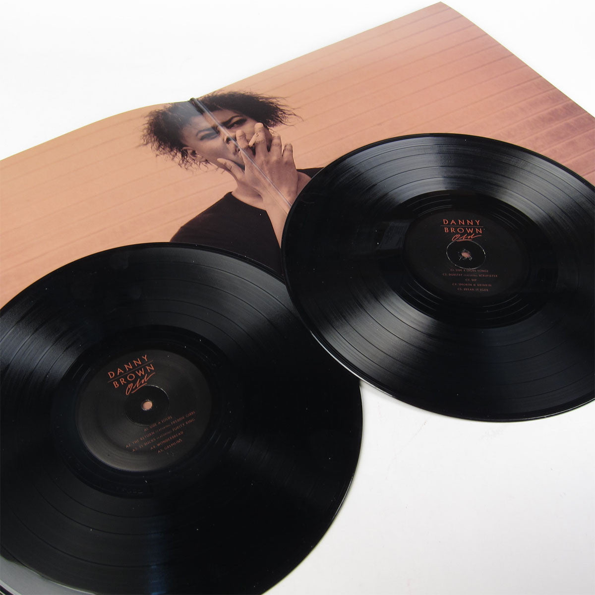 Danny Brown: Old Vinyl 2LP 2