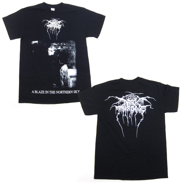 Darkthrone: A Blaze in the Northern Sky Shirt - Black